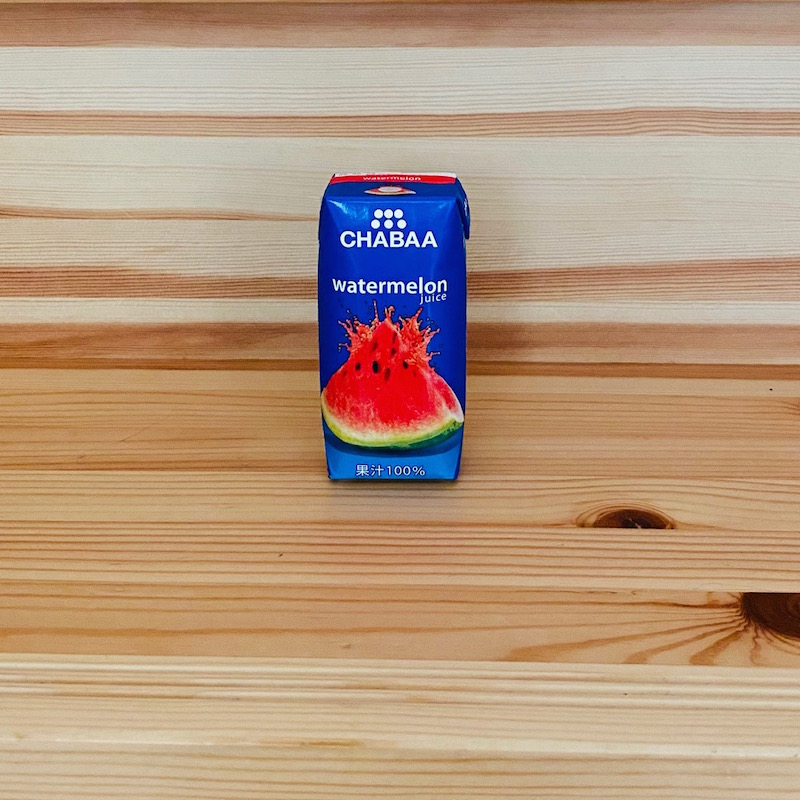 ハルナのチャバ ウォーターメロンジュース 180ml