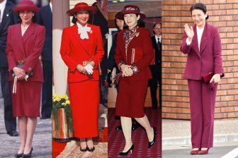 皇后雅子さまのおしゃれ心が香る赤系ファッション8選