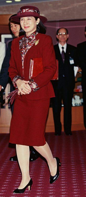 1997年11月の地方公務での雅子さま