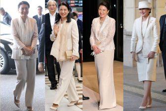 雅子皇后のおしゃれ度際立つホワイトファッション7選