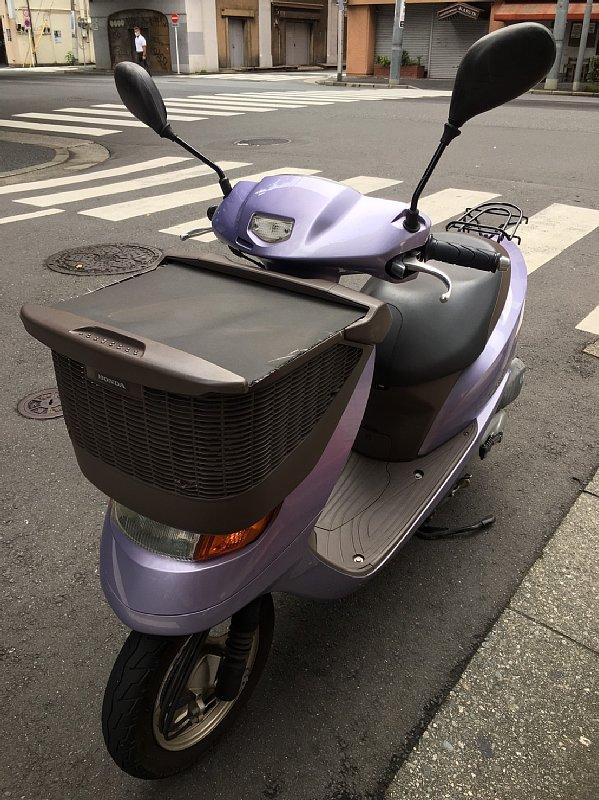 オバ記者の原付バイク