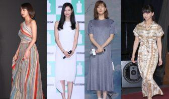本田翼、菜々緒、今田美桜ら美女12人の透明感あふれる夏ファッション