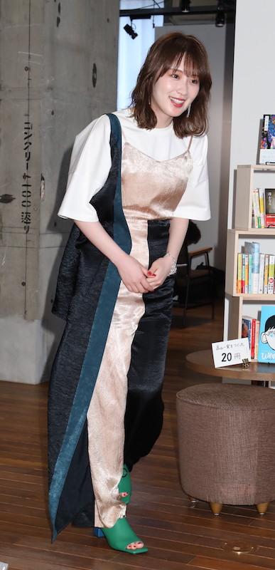 2019年6月19日、小説『トラベジウム』大ヒット記念トークイベントに出席した高山一実
