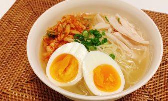 発酵食品&たんぱく質も摂れる主食に!「冷麺風糖質0g麺」レシピ【JUNの#コンビニオンリー糖質オ…