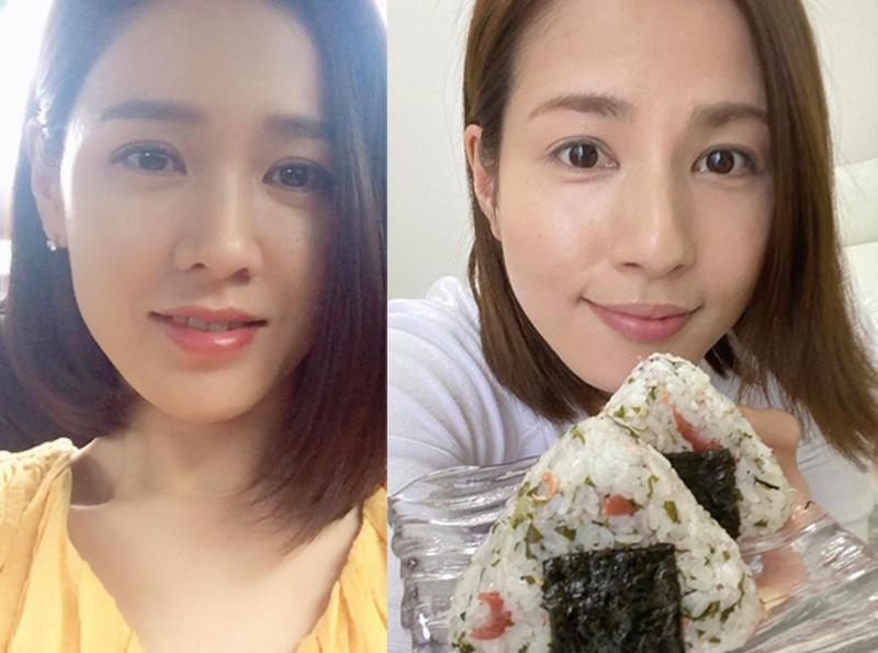 ソン・イェジンと永島優美の顔写真