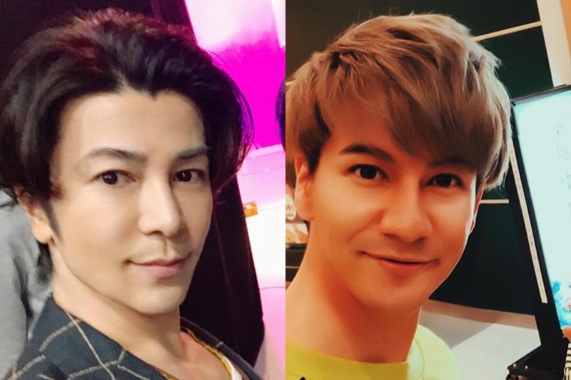 武田真治とJOYの顔写真