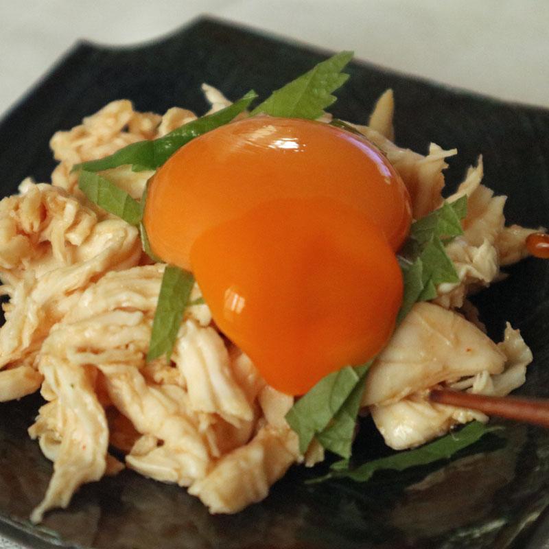 YouTubeチャンネル「ひなちゃんねる」で紹介されたダイエットレシピ「ささみのユッケ」
