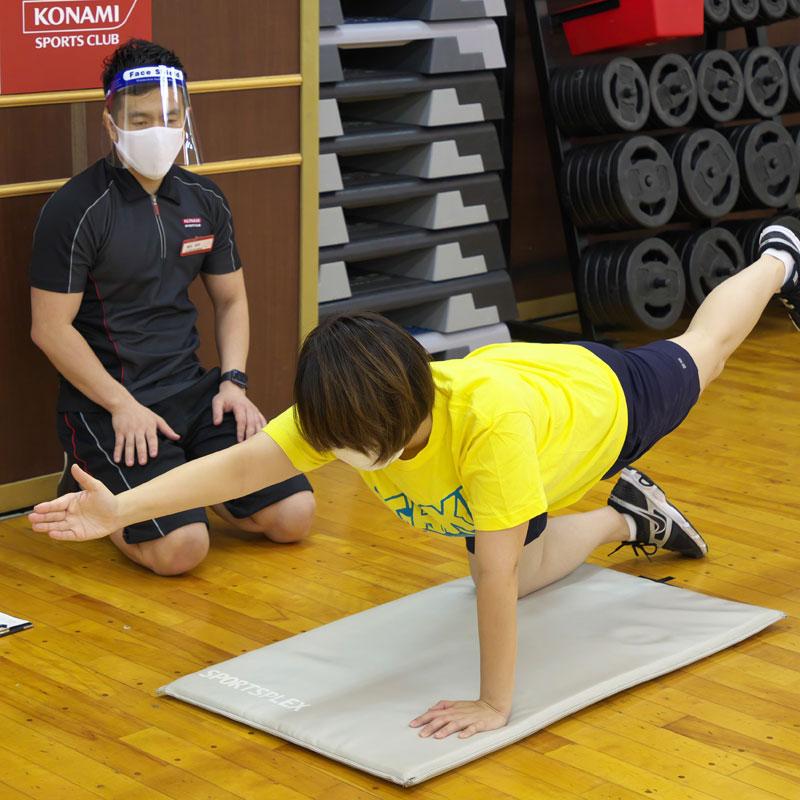 コナミスポーツクラブ 恵比寿のインストラクター横田昌佳さん&『BEST CORE』に挑むライターM