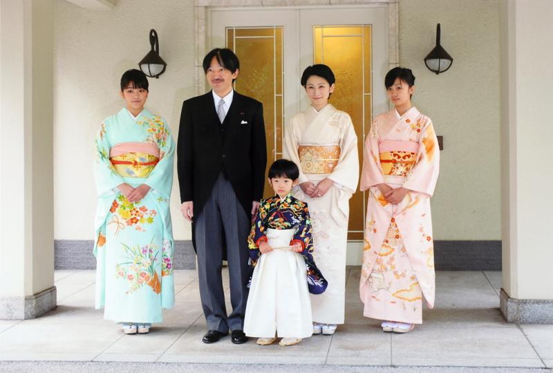 秋篠宮ご一家で着袴の儀にご参加された