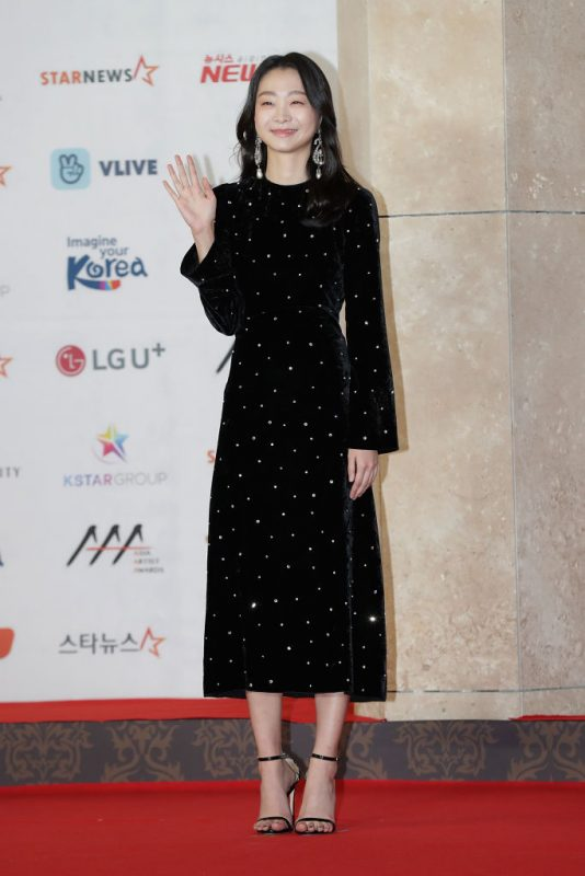 「2018 Asia Artist Awards」に出席したキム・ダミ