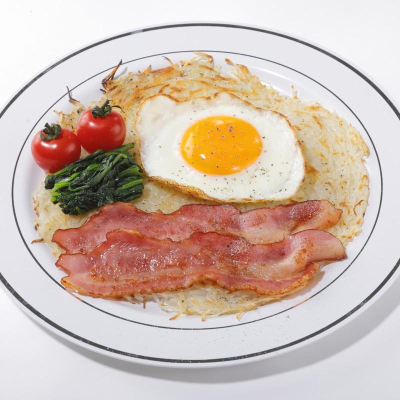 「ヨーロッパの朝食風プレート」