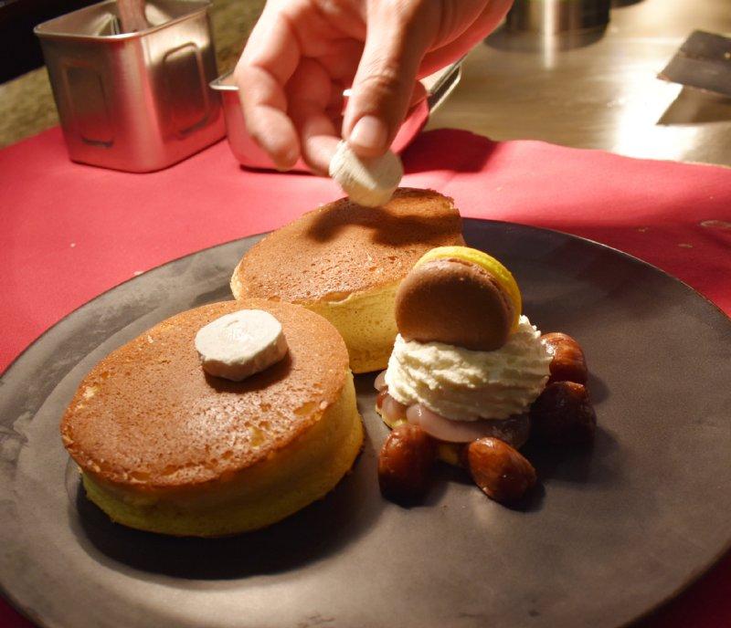 「SATSUKI」のパンケーキ