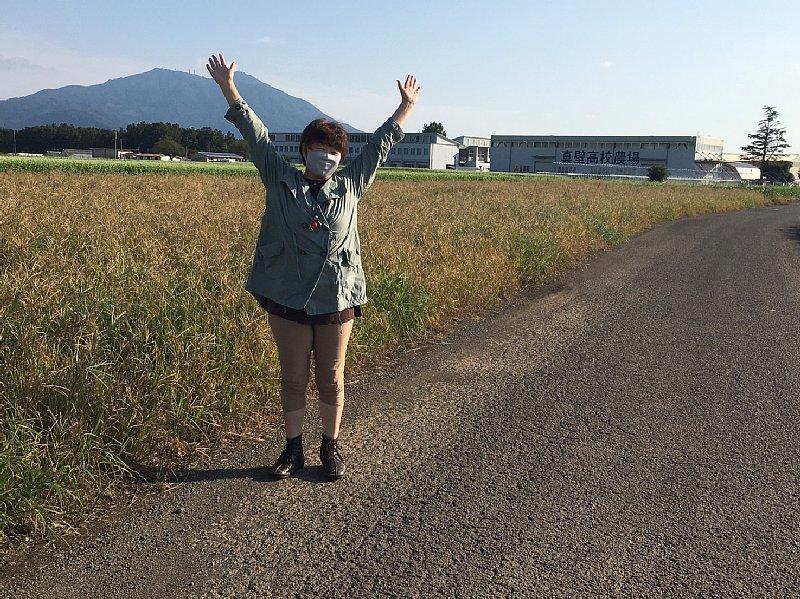 オバ記者の地元の農場