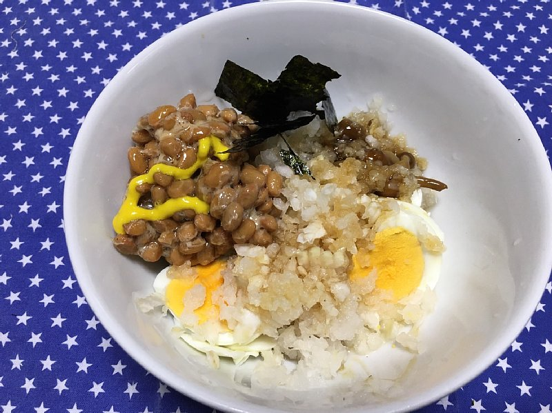 オバ記者のゆで卵を使った朝食