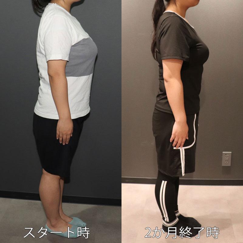 ダイエットに挑戦中のライターI美、1か月ダイエットのビフォーアフター