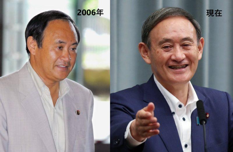 2006年の菅首相と現在の菅首相