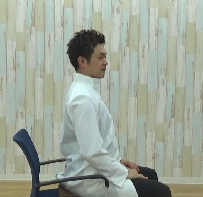 正しいいすの座り方