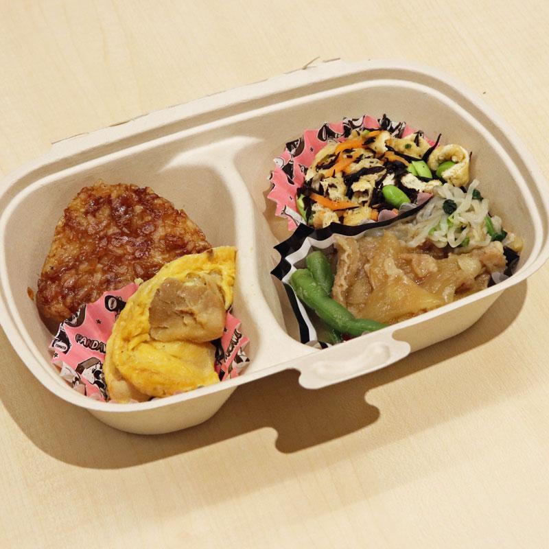 RIZAP(ライザップ)推奨低糖質ミール専門店「ロカラボ」豚の生姜焼き弁当