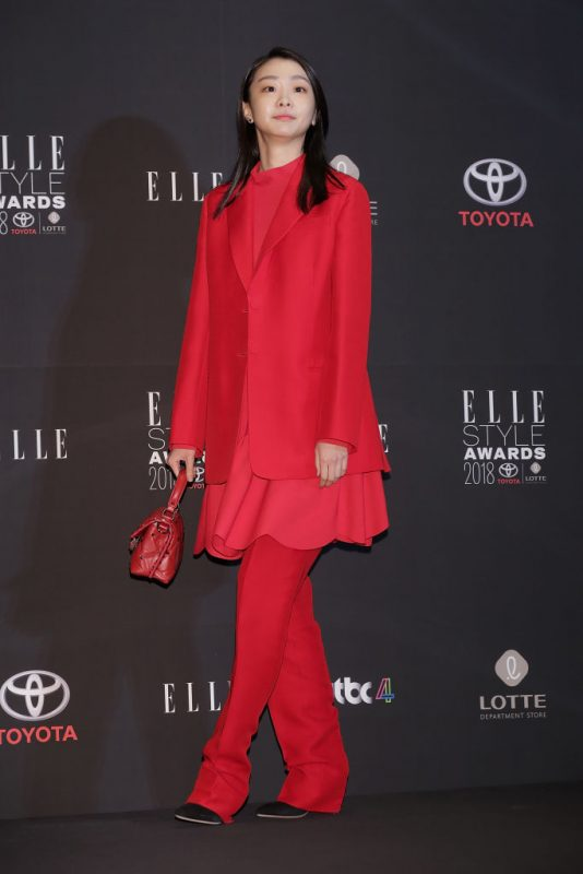「ELLE STYLE AWARDS 2018」に出席したキム・ダミ