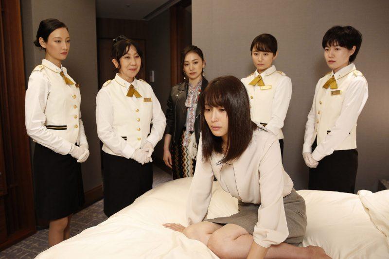 『七人の秘書』第1話場面写真