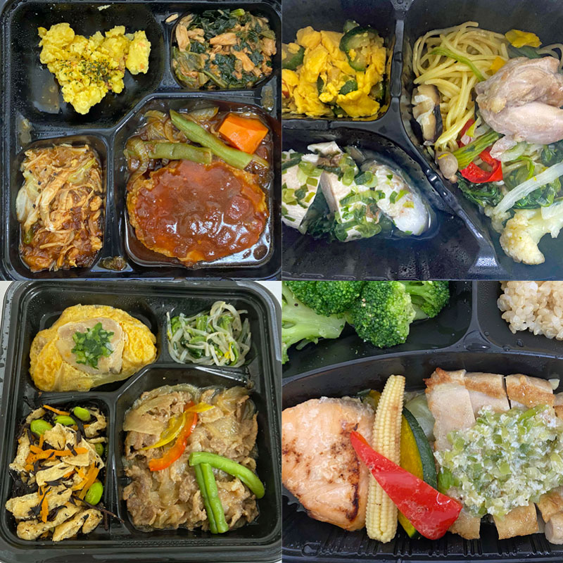 「RIZAP」「Muscle Deli」「筋肉食堂」低糖質の冷凍食品プレート