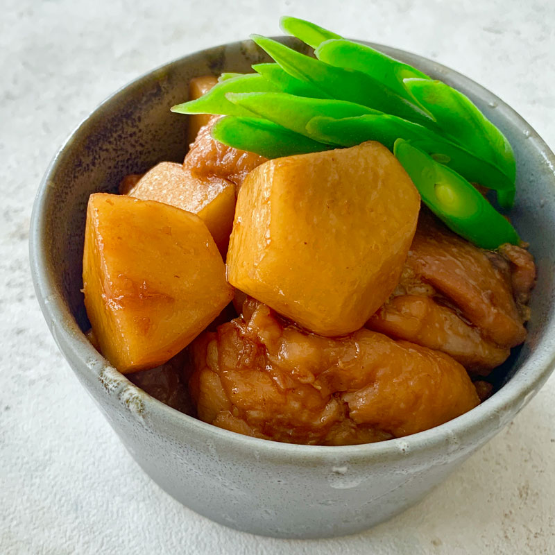 里芋と鶏肉のこっくり煮