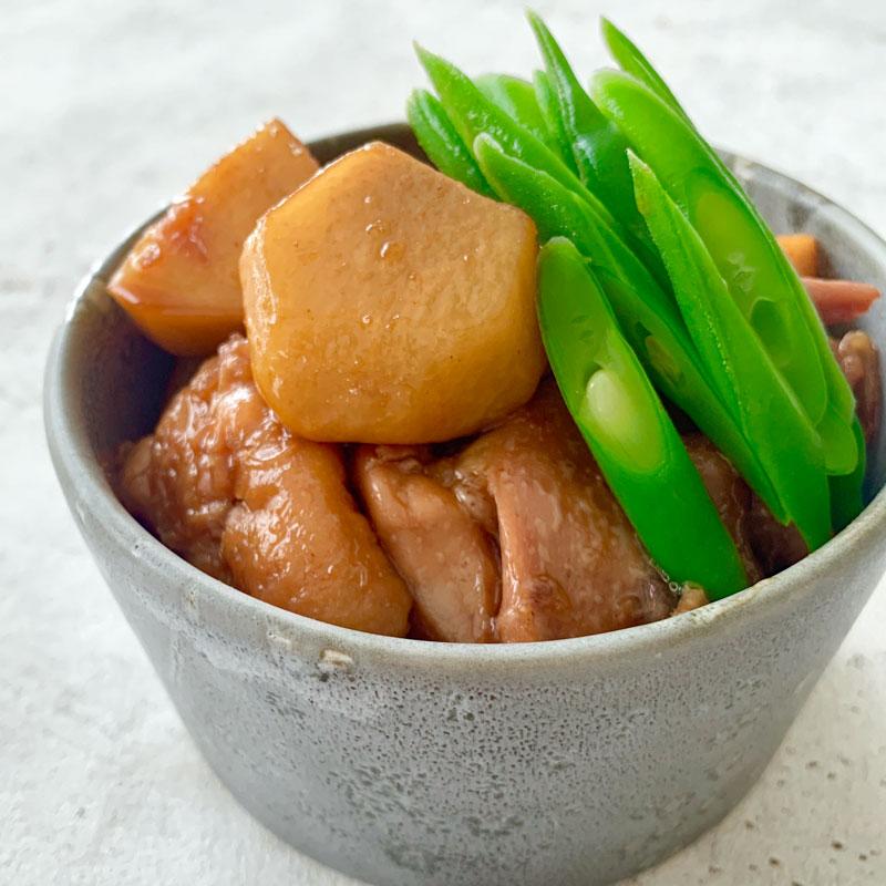 「里芋と鶏肉のこっくり煮」