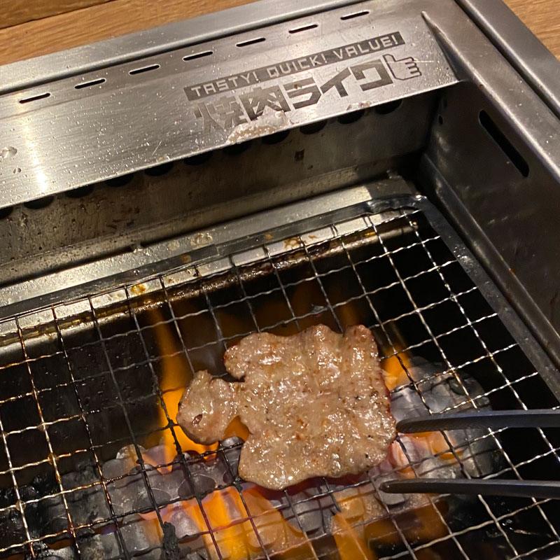 焼き肉ライクの焼肉