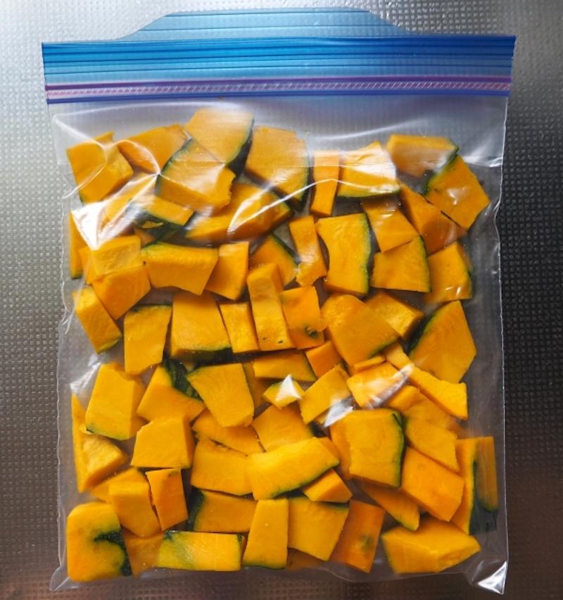 かぼちゃの冷凍野菜