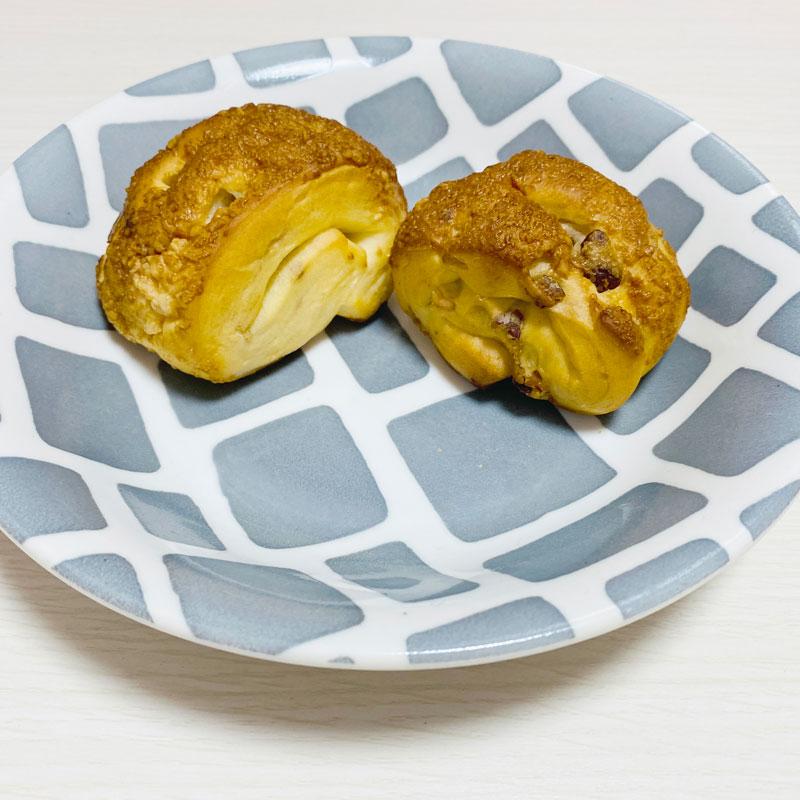 無印良品「糖質10g以下のパン」くるみチーズ