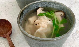 冷凍ストック活用で時短に!免疫力&美肌力をUP「れんこんとエビのワンタンスープ」【市橋有里の…