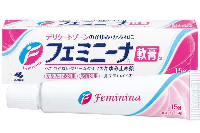 フェミニーナ軟膏Sのパッケージ写真