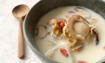 更年期の症状に悩む人にもおすすめ。時短料理「ホタテの免疫力UPスープ」【市橋有里の美レシピ】