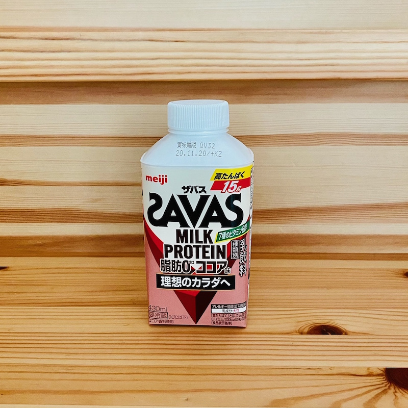 明治のザバス ミルクプロテイン脂肪0 ココア味430ml