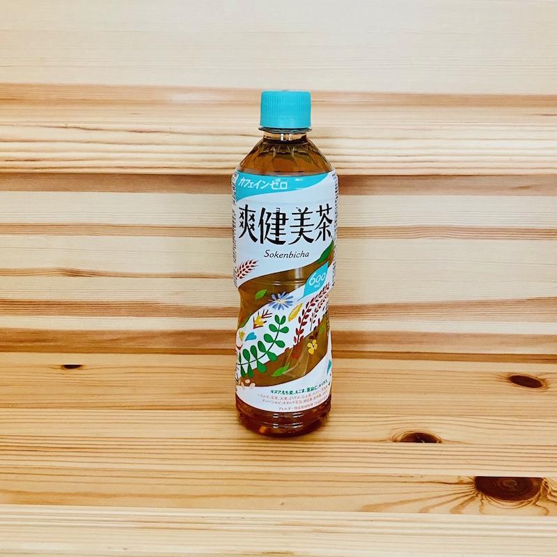 爽健美茶600mlペットボトル