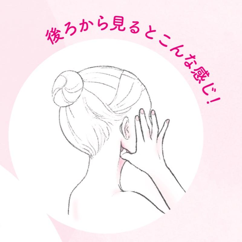 耳の後ろのくぼみを図解