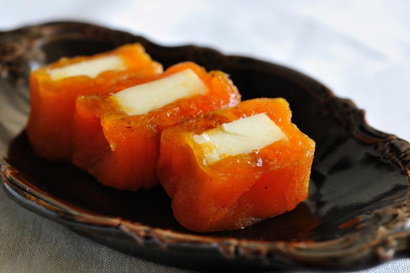 干し柿チーズ