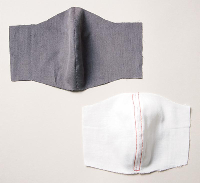 外布、内布ともに表面を上に