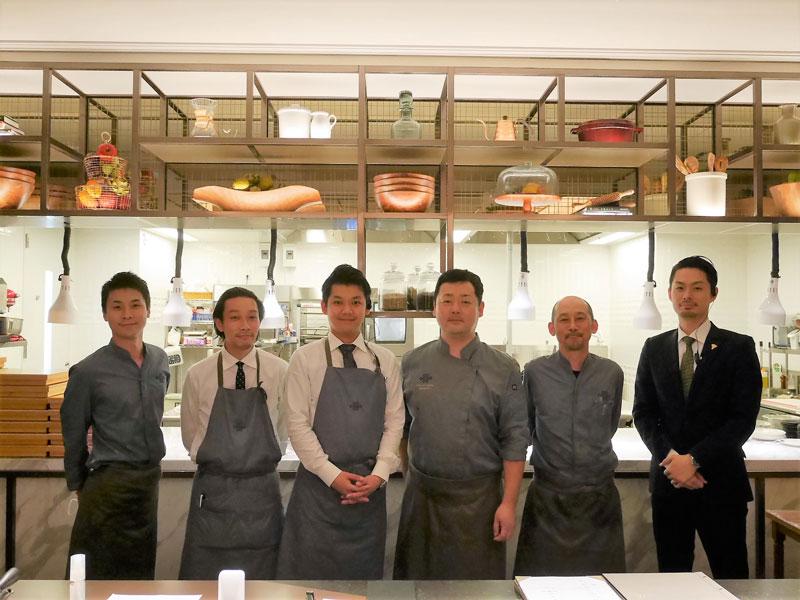 MOSS CROSS TOKYO料理人