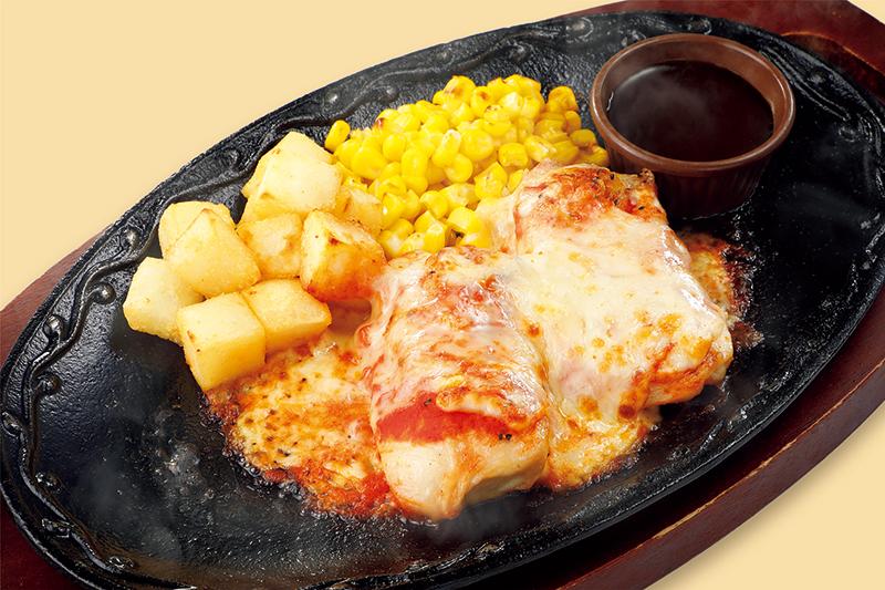 柔らかチキンのチーズ焼き