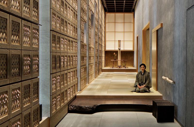 日本旅館「星のや東京」玄関