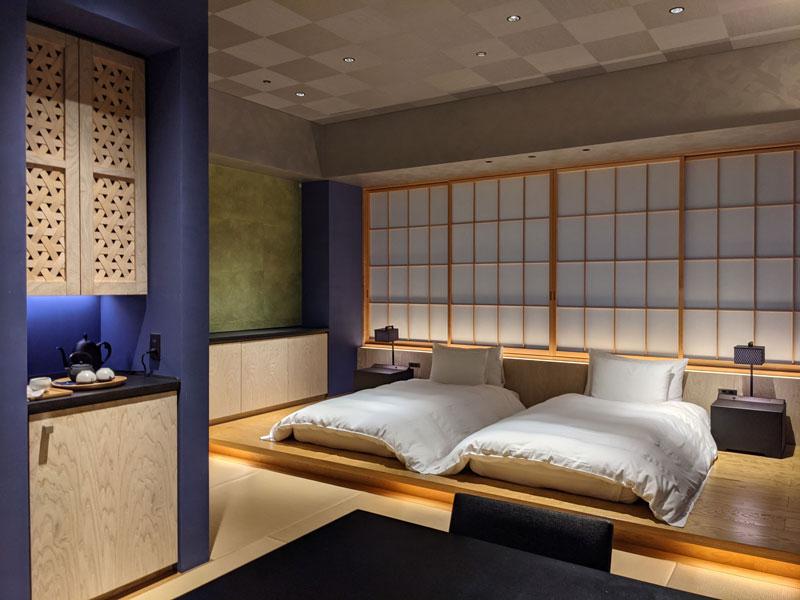 日本旅館「星のや東京」客室