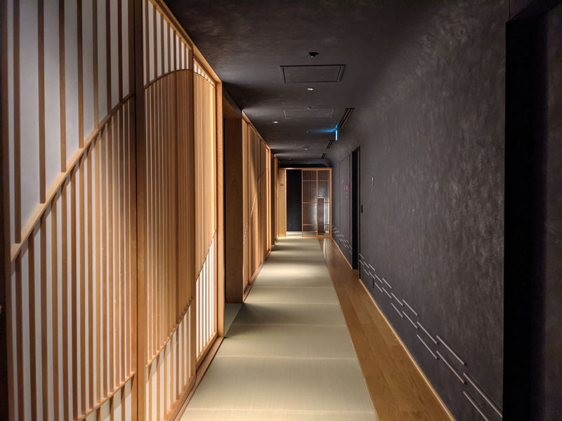 日本旅館「星のや東京」の館内