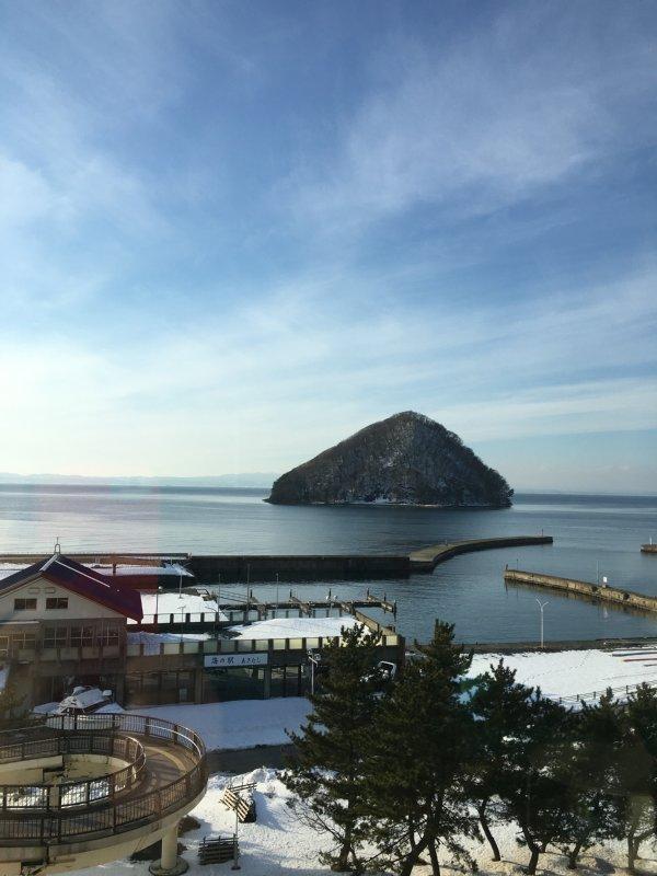 津軽海峡の景色