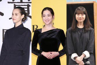 中村アン、水原希子、清原果耶、香里奈はブラックやネイビー1色でカッコよく決める!
