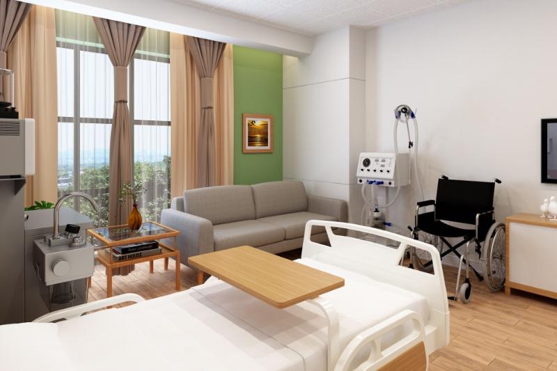 緩和ケア病棟のイメージ