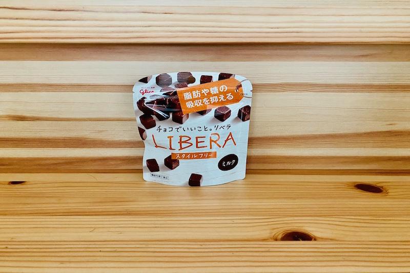 江崎グリコのLIBERA(ミルク)
