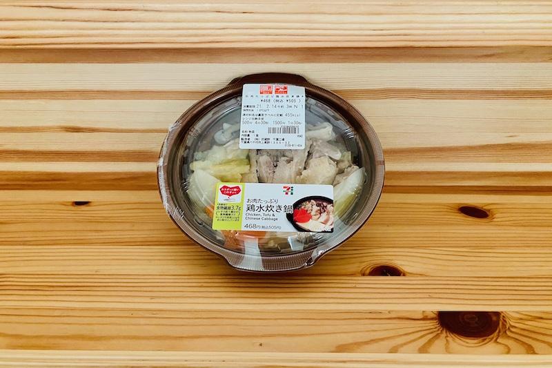 セブンイレブンのお肉たっぷり鶏水炊き鍋