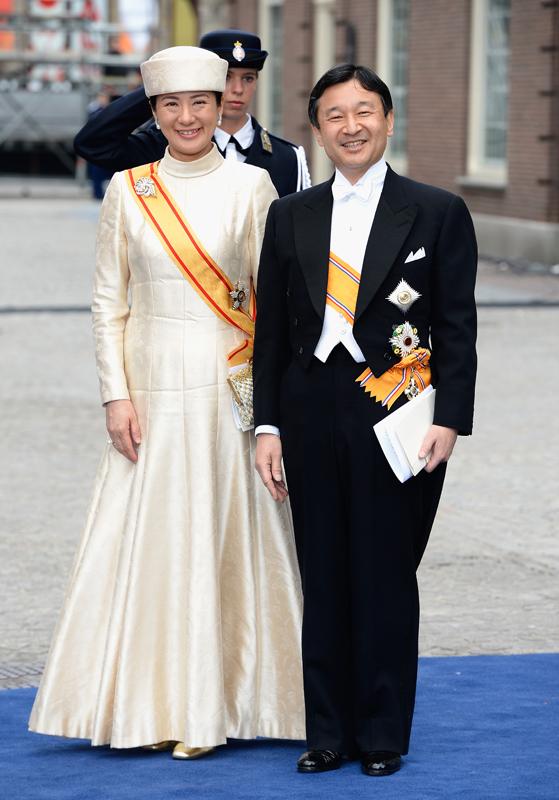オランダ国王即位式に出席された天皇皇后両陛下