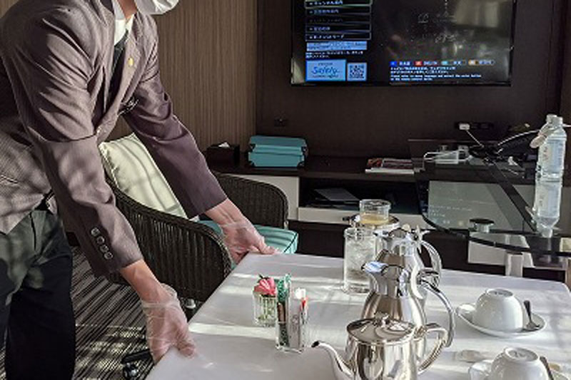 ザ・プリンス パークタワー東京」断食プランの朝食